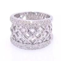14 karat Gold and Diamond Ring | DazzleMe