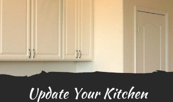 5 Tips to Update Your Kitchen Cabinets for $100 or Less #DIY