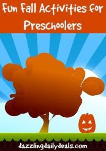 activity ideas for preschoolers