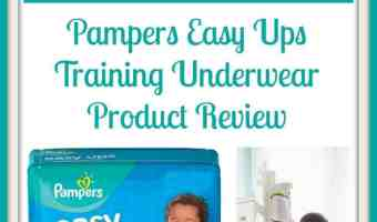 Pampers Easy Ups Unboxing and Giveaway #PampersEasyUps