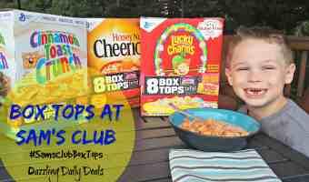 Box Tops Bonus at Sam's Club #ad #SamsClubBoxTops