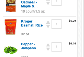 Fred Meyer's ClickList Helps Me Stay On Top Of Life!