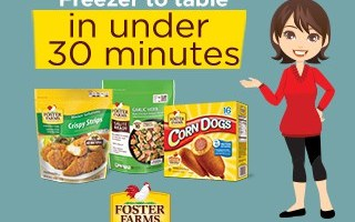 How To Feed Your Family On Busy Weekday Nights With Foster Farms -#FFRuleYourRoost #Giveaway #ad