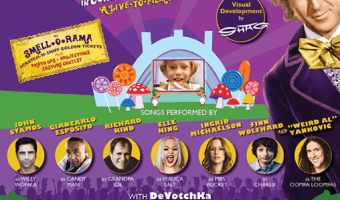 Willy Wonka and The Chocolate Factory LIVE in concert at the Hollywood Bowl #willywonkabowl