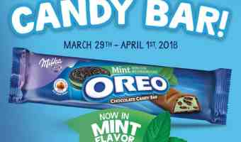 Get Your FREE Sample Of OREO Mint Chocolate Candy Bars At A Store Near You! #OREOChocolate #ad