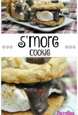 Easy S'more Cookie Recipe