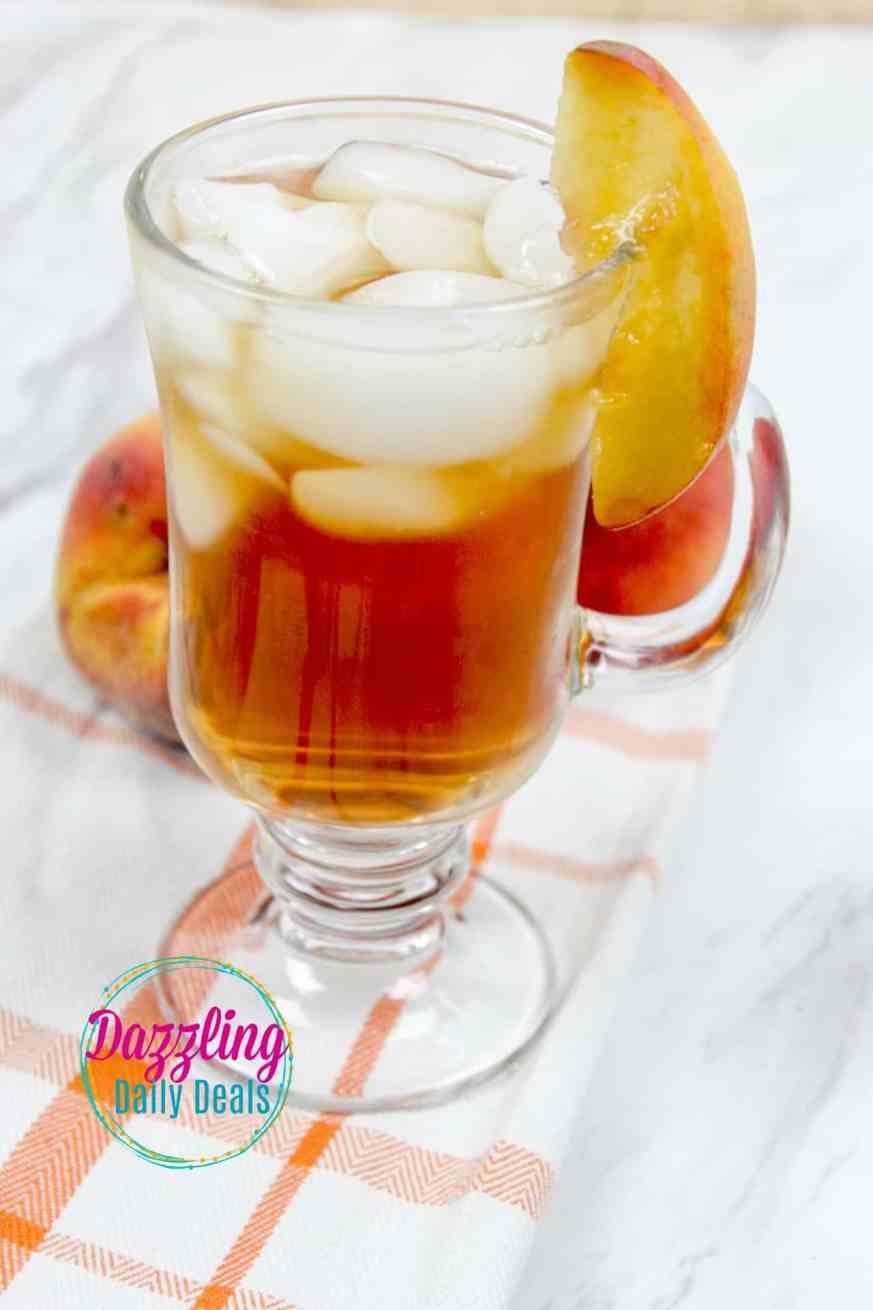 Southern Bourbon Peach tea recipe