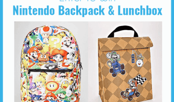 ENTER TO WIN A SUPER MARIO BACKPACK AND LUNCHBOX – #Giveaway