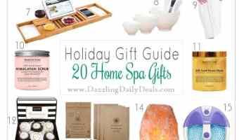 20 Home Spa Gift Ideas