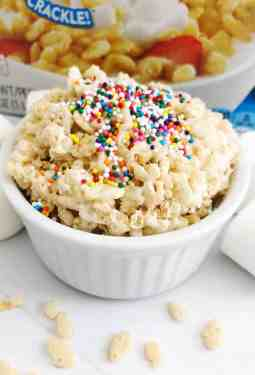 Rice Krispy Treat For One Recipe