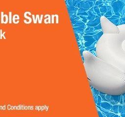 Get Your Free Swan Floatie From Walmart