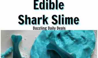 Easy Edible Shark Slime Recipe