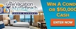 The Great Myrtle Beach Condo Giveaway #sweepstakes