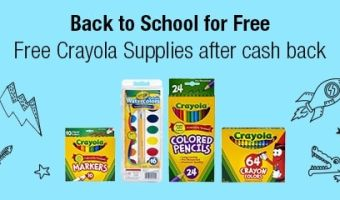 MONEY MAKER!!!! – Get FREE Crayola Products For Back To School