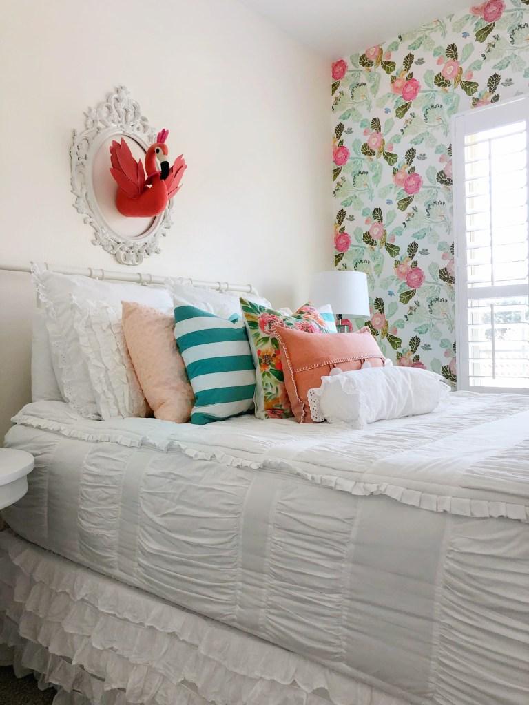 Little Girl S Flamingo Inspired Room Dazzling Hospitality
