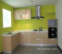 simple design melamine custom kitchen cabinet color ...