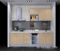 beige practical style melamine beige custom small kitchen ...