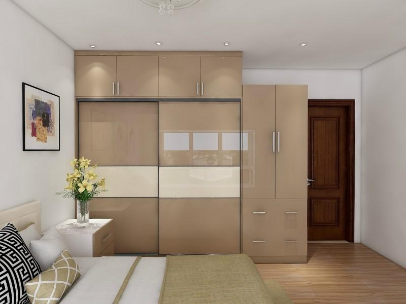 color combination Bedroom wardrobe design