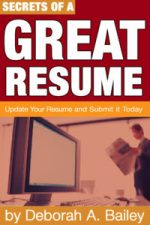 Secrets of a Great Resume book