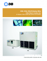 Chilled water air handling units