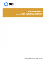 Modular central sation air handling units eCS3 series