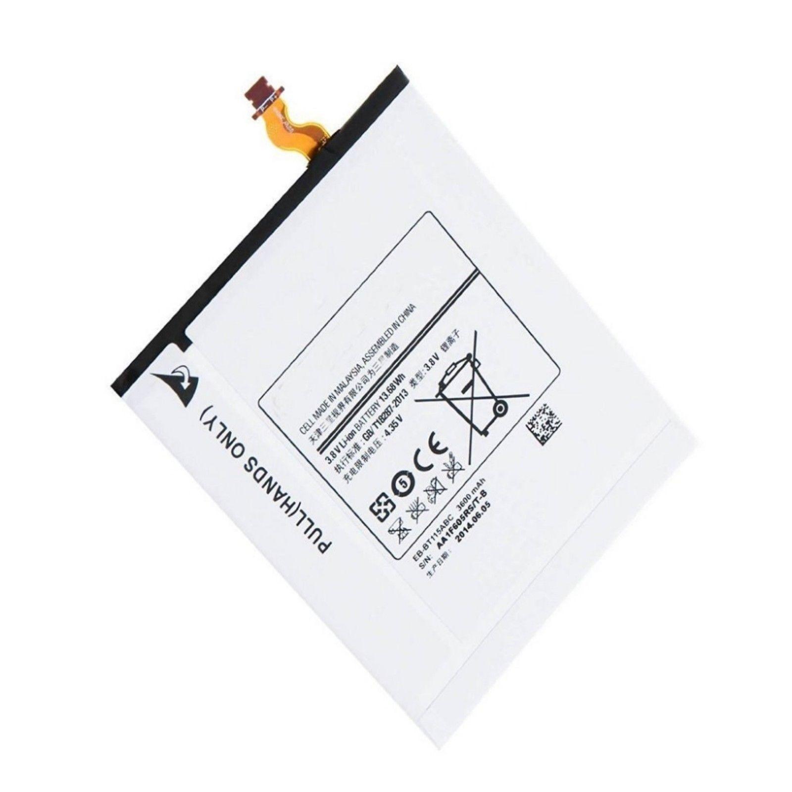 BATTERIA ORIGINALE SAMSUNG EB-BT115 3600mAh PER GALAXY TAB