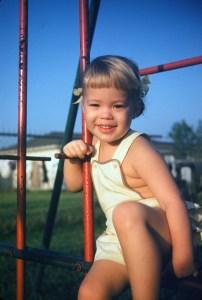 D. B. Borton as a child
