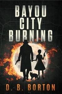 BAYOU CITY BURNING cover
