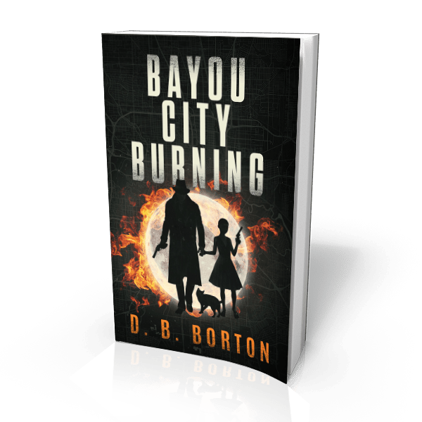 BAYOU CITY BURNING book cover