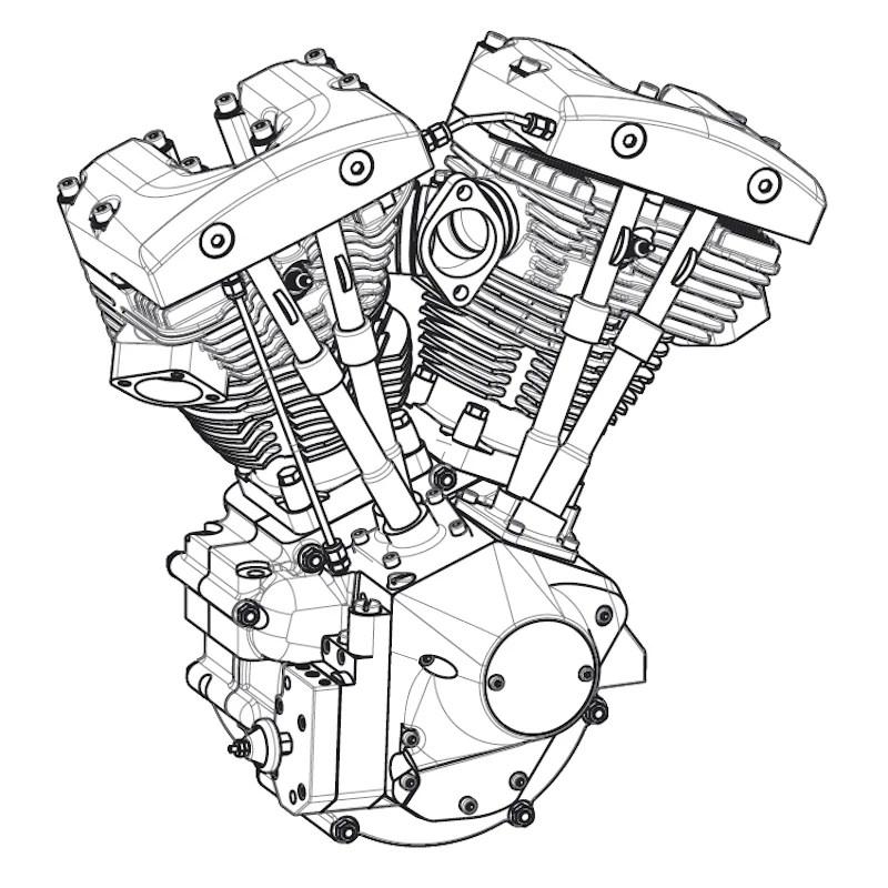 Motorcycle Wiring Diagram Found Harley Davidson Wiring