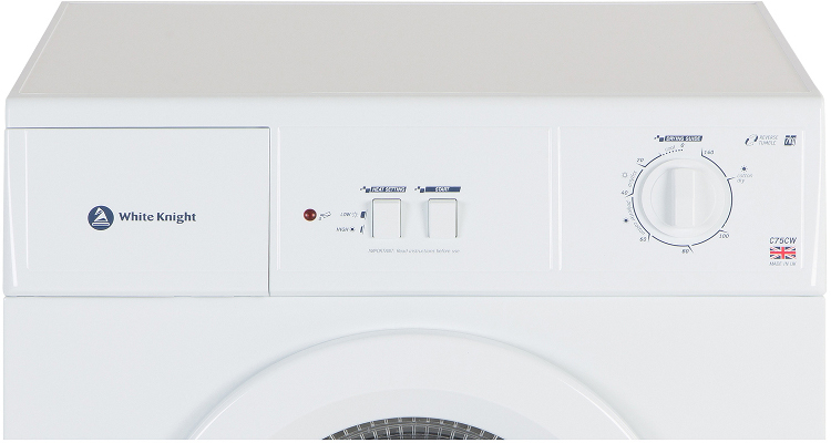 White Knight 7kg Tumble Dryer C75CW