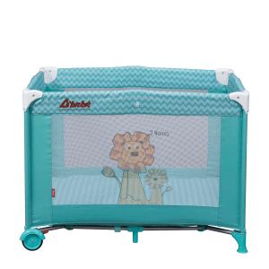 Dbebe Corral cuna Zoo Baby azul