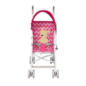 Dbebe Carriola de bastón Zoo Baby rosa