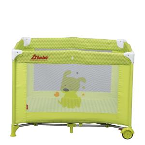 Dbebe Corral cuna Zoo Baby verde