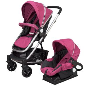 Dbebe Carreola Travel System Crown Rosa