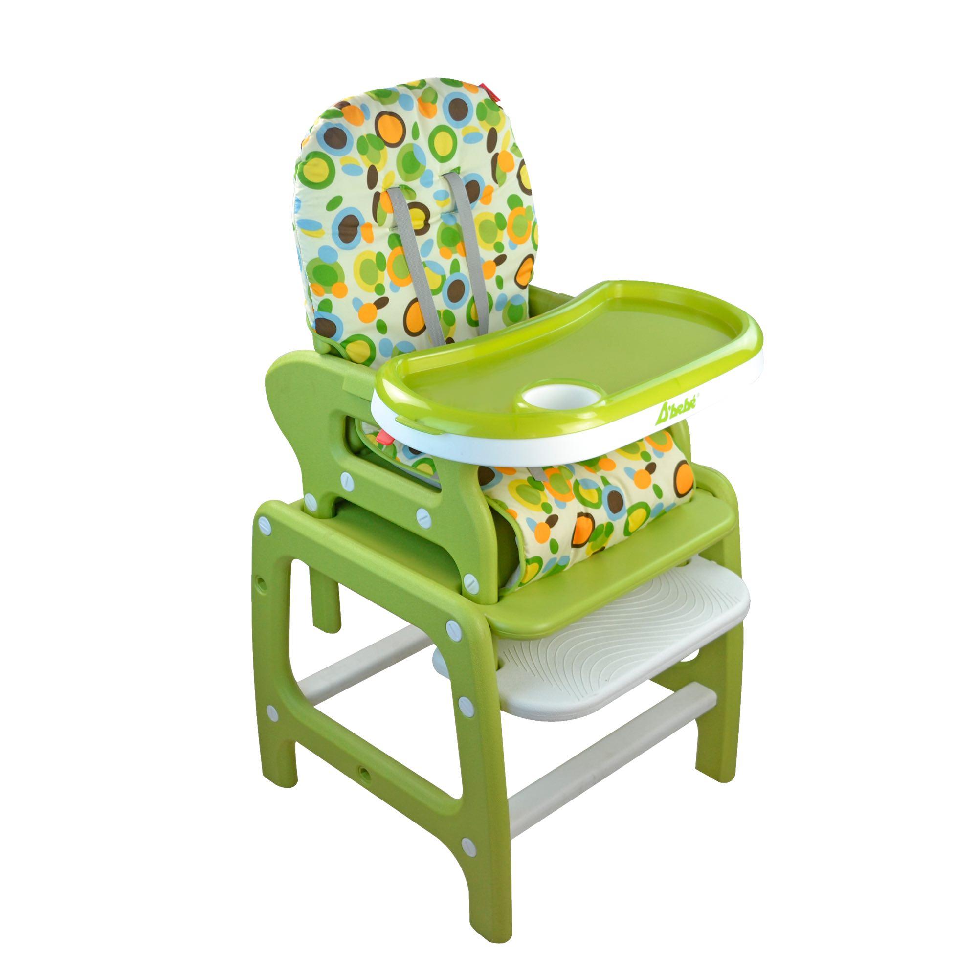 Silla Alta para comer Multiconfort Verde D'bebé : Productos para bebé