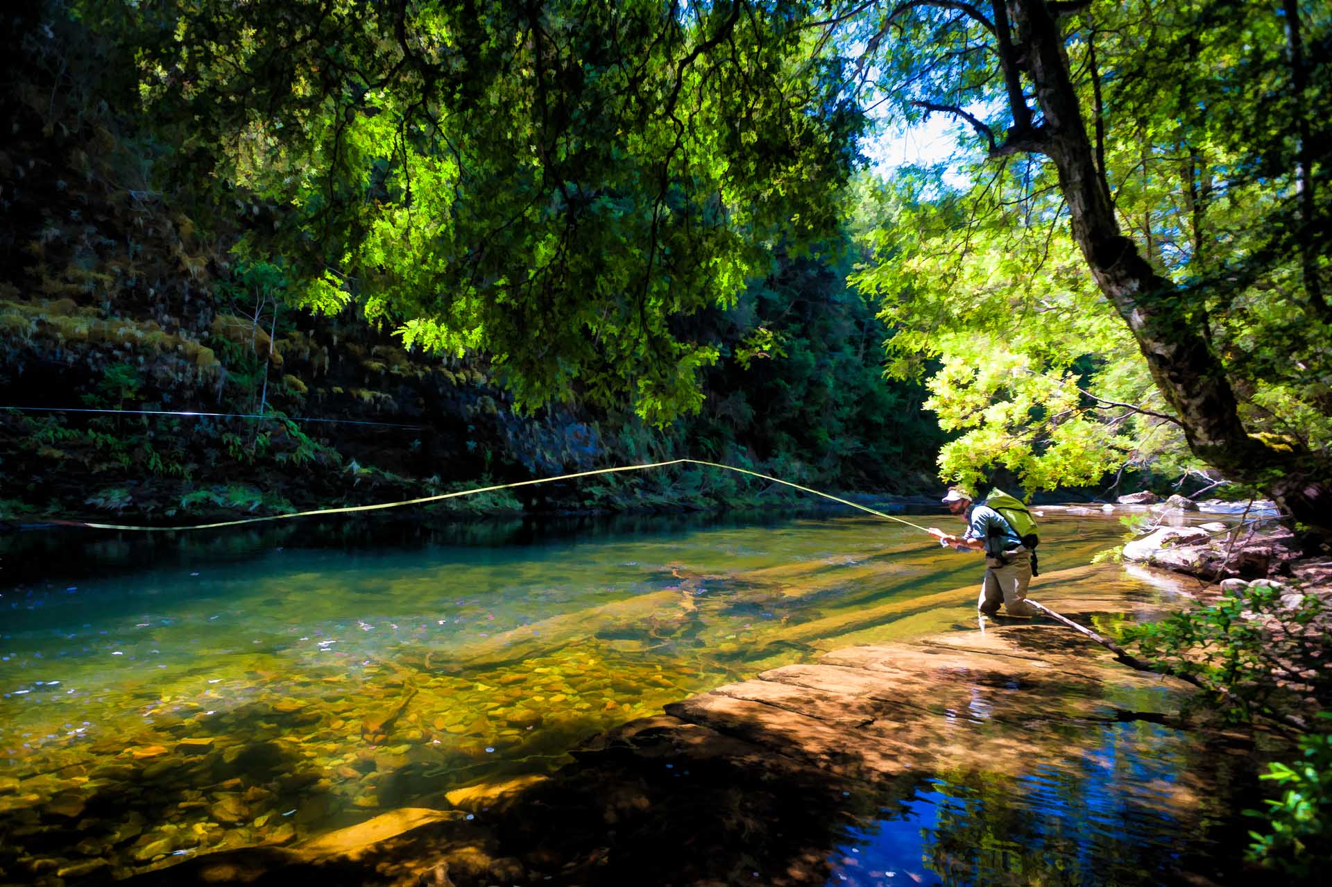 Damien Brouste  Fly Fishing Photography