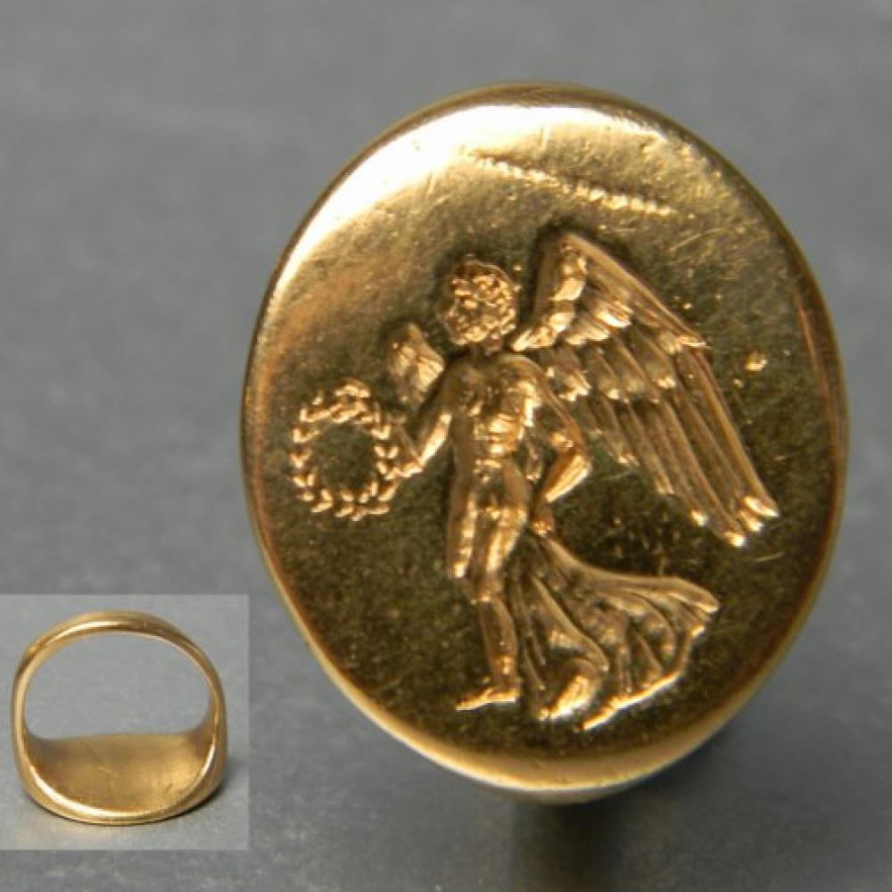 Ancient Greek signet ring  DB Gems