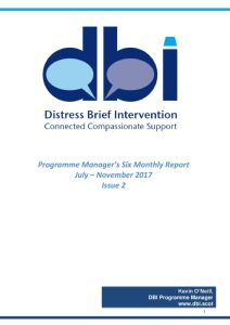 thumbnail of DBI Programme Managers Six Monthly Report (Issue 2) Jul-Nov17 KON