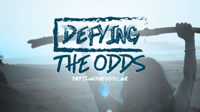 Defying the Odds Facebook Cover Image