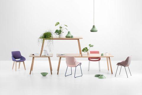 Monk kolekcija, Prostoria, dizajn: Grupa, stolica od 2474 kn, stol od 9240 kn
