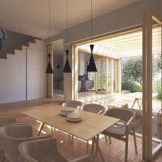 SODA arhitekti / kuća 1-2-4 / vizualizacija