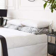 posteljina na pruge, prije 499 kn, sada 399 kn, Zara Home