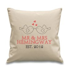 personalizirani jastuk, ThePersonalWeddingCo, 18$, Etsy.com