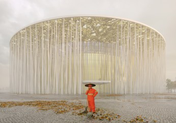 Culture - Steven Chilton Architects - Wuxi Taihu Show Theatre, Wuxi, China / Archdaily