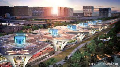 Infrastructure - Corgan - Connect, A Mega Skyport, Multiple locations, USA / engadget.com / Corgan