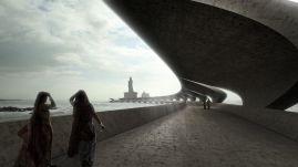 Infrastructure WINNER - Monk Mackenzie + Novare – Thiruvalluvar, Kanyakumari, India / Monk Mackenzie