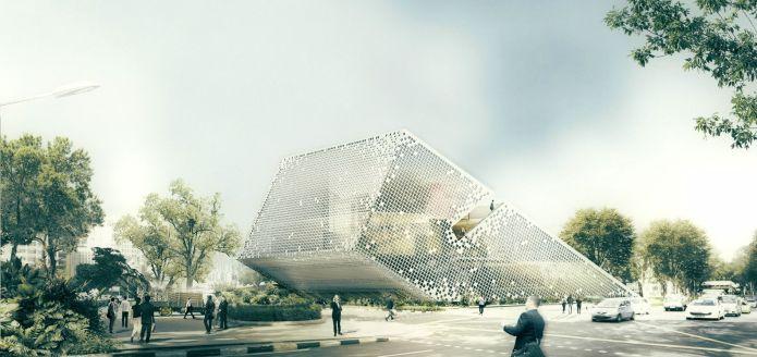 Office - New Wave Architecture - Turoboseal Tech Headquarter, Tehran, Iran / Arch2O