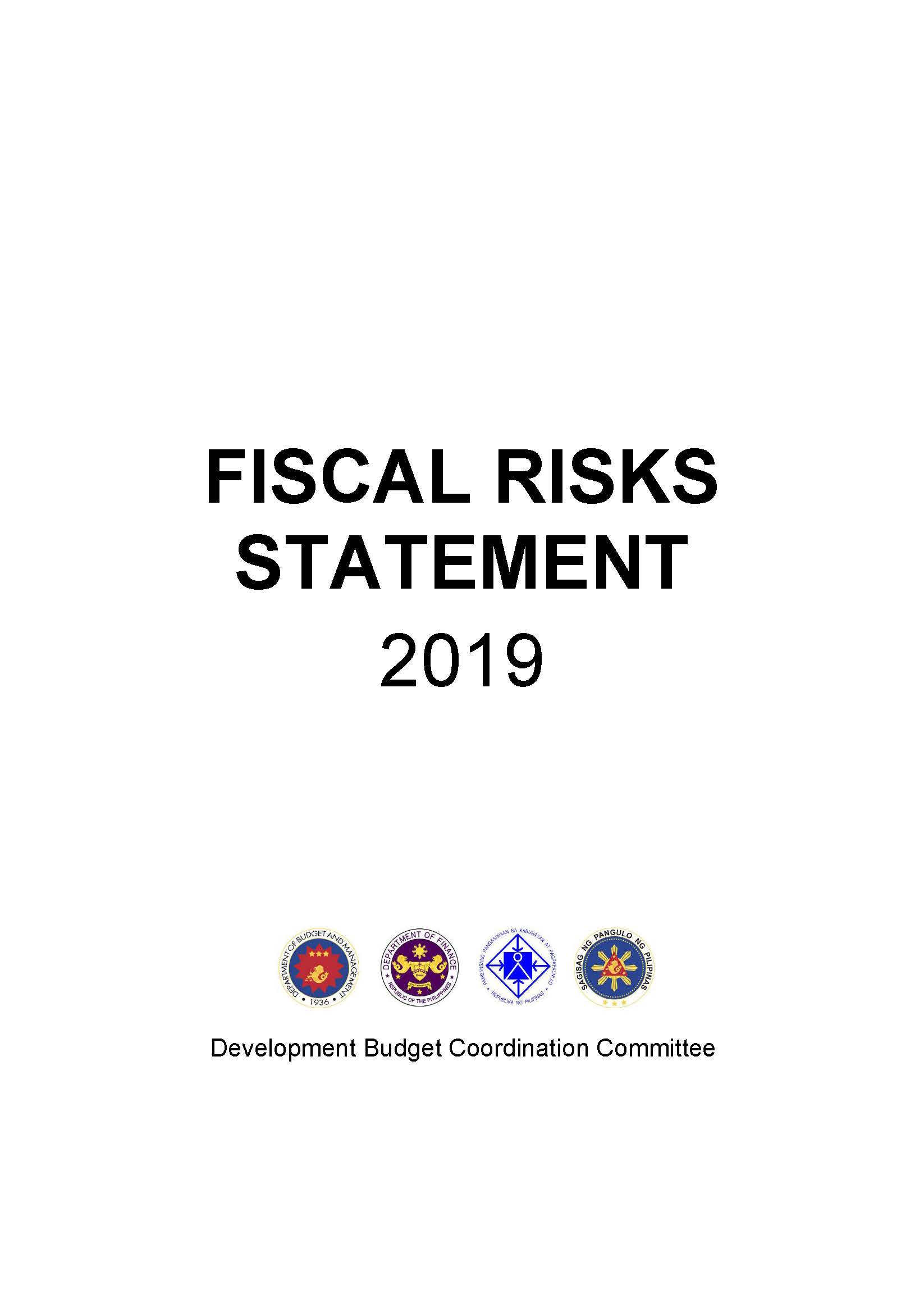 Fiscal Risk Statement