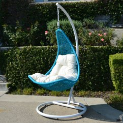 Hammock Chair C Stand Classic Covers Ireland White Turquoise Egg Shape Wicker Rattan Swing Lounge Weaved